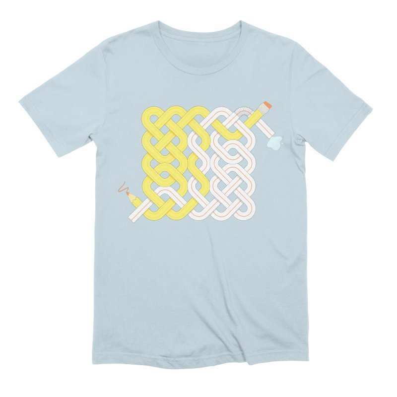 Exstrawdinary Drawing. Men's Extra Soft T-Shirt by Cumulo 7