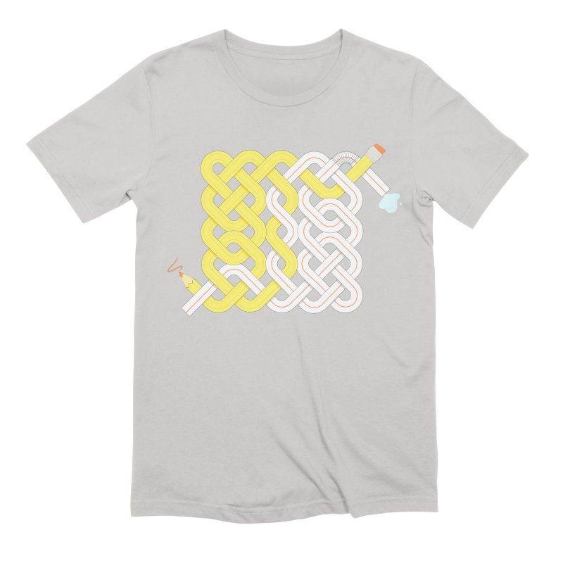 Exstrawdinary Drawing. Men's Extra Soft T-Shirt by cumulo7's Artist Shop