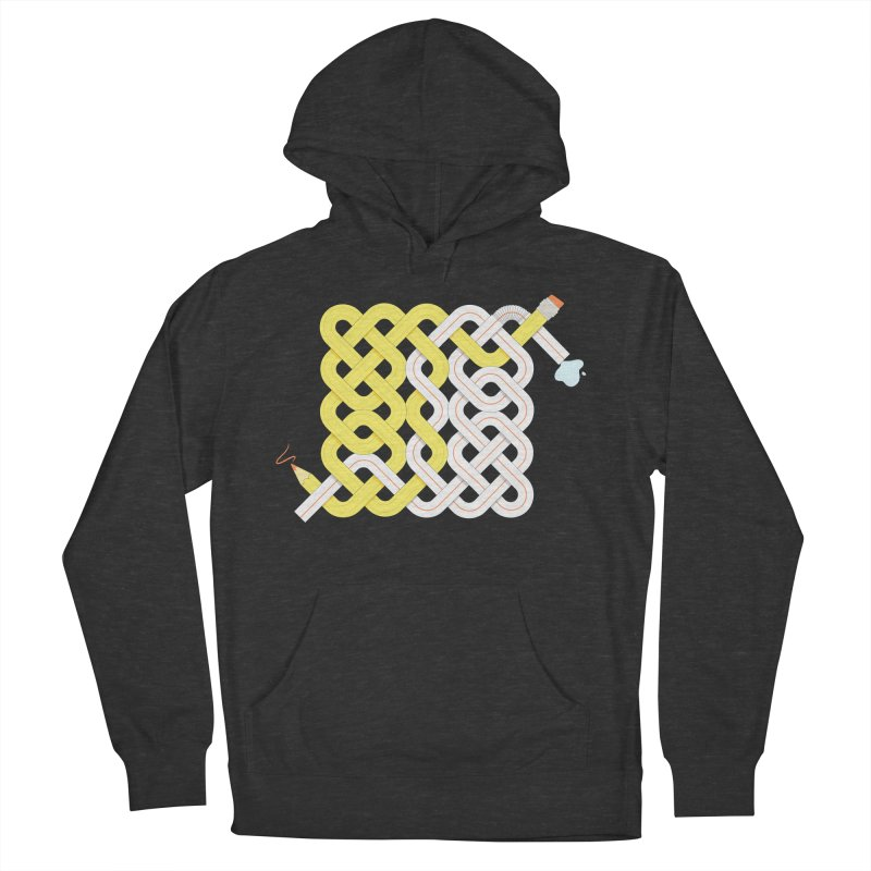 Exstrawdinary Drawing. Women's French Terry Pullover Hoody by Cumulo 7