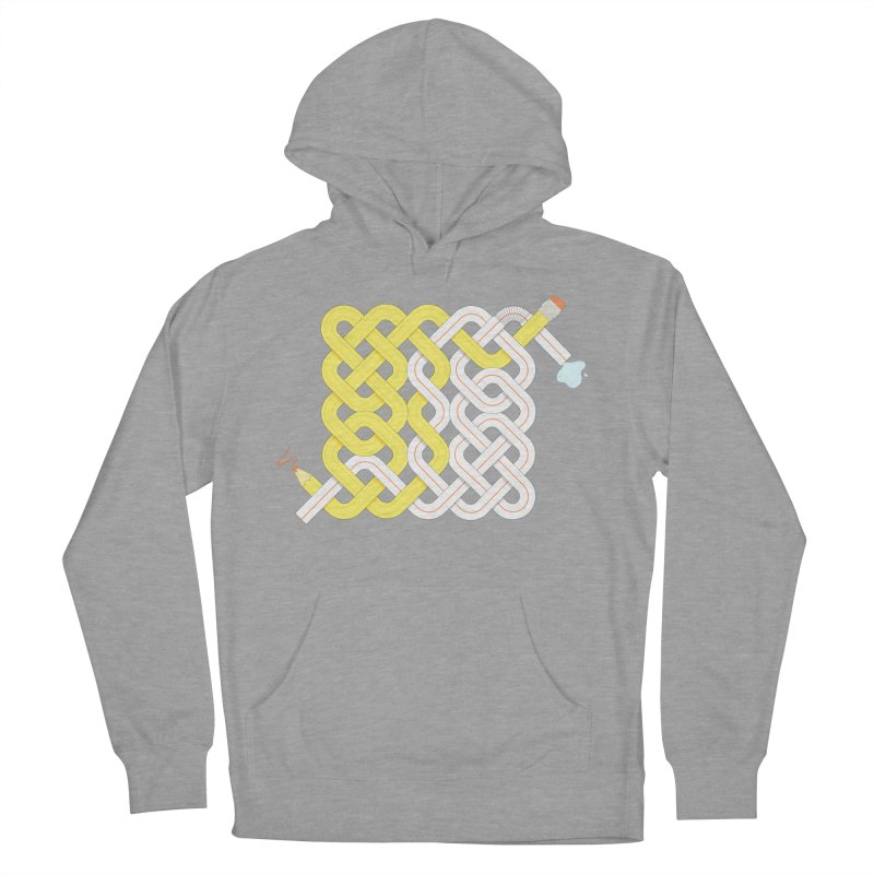Exstrawdinary Drawing. Women's French Terry Pullover Hoody by cumulo7's Artist Shop