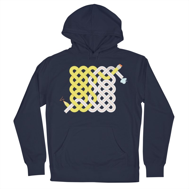 Exstrawdinary Drawing. Women's Pullover Hoody by cumulo7's Artist Shop