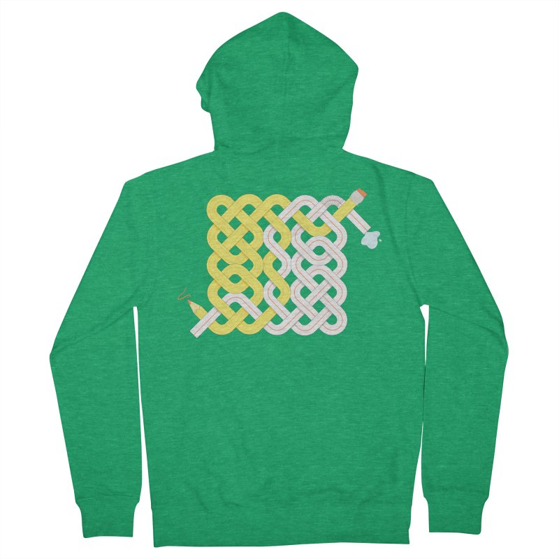Exstrawdinary Drawing. Women's French Terry Zip-Up Hoody by cumulo7's Artist Shop