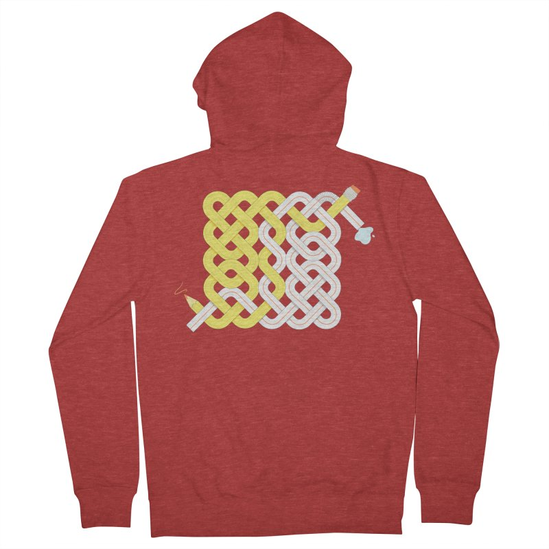 Exstrawdinary Drawing. Men's French Terry Zip-Up Hoody by cumulo7's Artist Shop