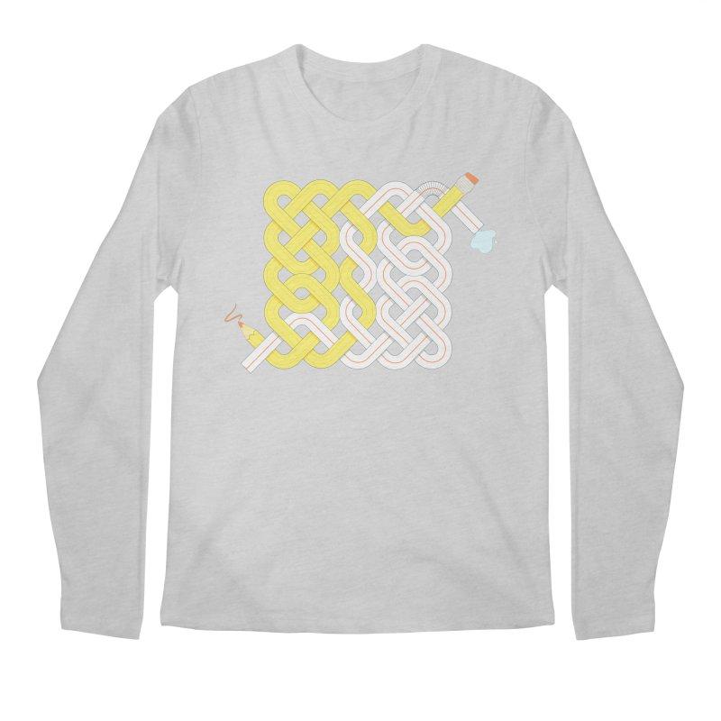 Exstrawdinary Drawing. Men's Regular Longsleeve T-Shirt by Cumulo 7