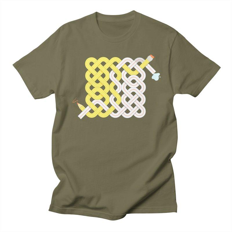 Exstrawdinary Drawing. Men's Regular T-Shirt by cumulo7's Artist Shop