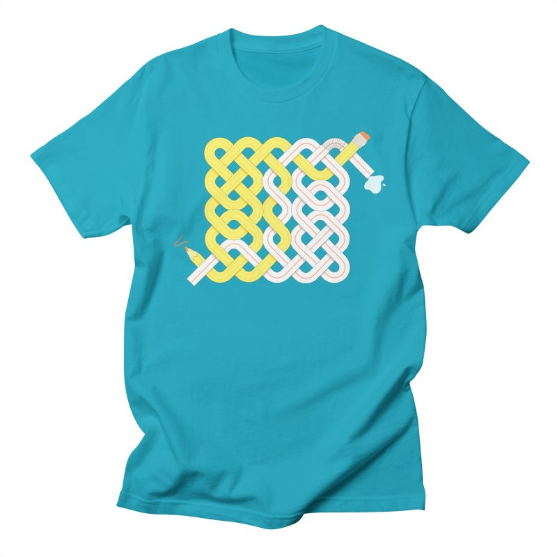 Exstrawdinary Drawing. Men's Regular T-Shirt by Cumulo 7