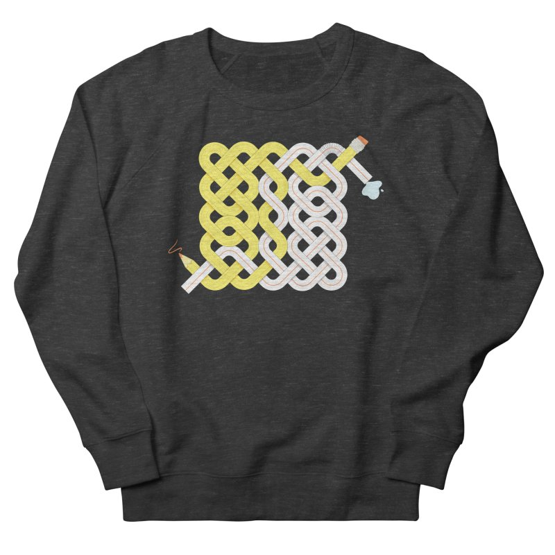 Exstrawdinary Drawing. Men's French Terry Sweatshirt by cumulo7's Artist Shop