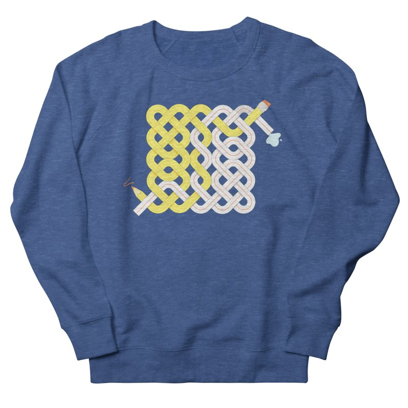 Exstrawdinary Drawing. Men's French Terry Sweatshirt by Cumulo 7
