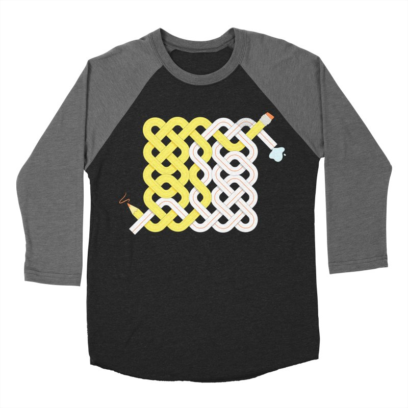 Exstrawdinary Drawing. Women's Baseball Triblend Longsleeve T-Shirt by cumulo7's Artist Shop