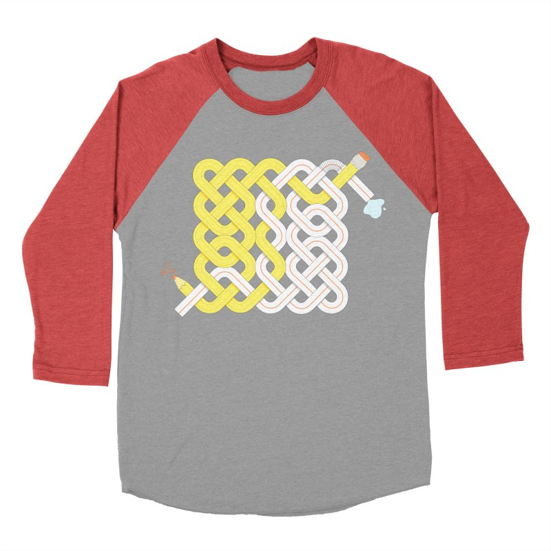 Exstrawdinary Drawing. Men's Baseball Triblend Longsleeve T-Shirt by Cumulo 7