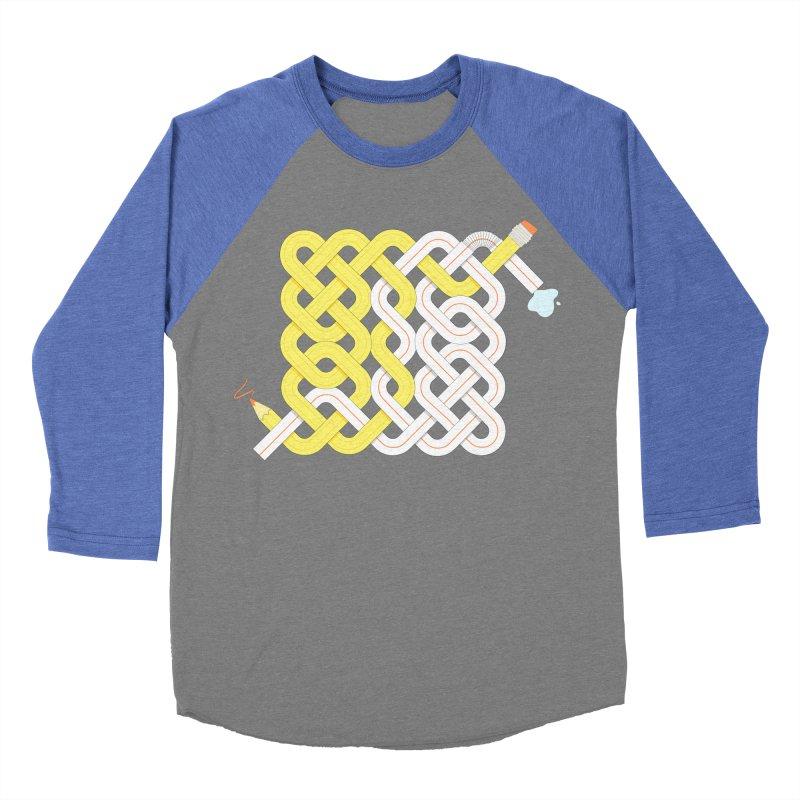 Exstrawdinary Drawing. Men's Baseball Triblend Longsleeve T-Shirt by cumulo7's Artist Shop