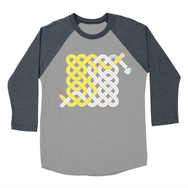Exstrawdinary Drawing. Men's Baseball Triblend Longsleeve T-Shirt by Cumulo 7