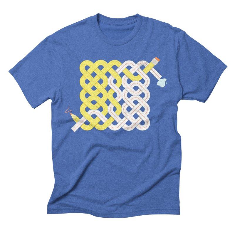 Exstrawdinary Drawing. Men's Triblend T-shirt by cumulo7's Artist Shop