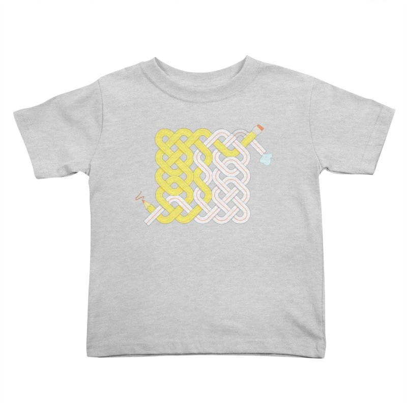 Exstrawdinary Drawing. Kids Toddler T-Shirt by cumulo7's Artist Shop