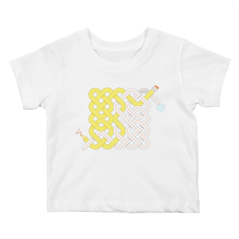 Exstrawdinary Drawing. Kids Baby T-Shirt by cumulo7's Artist Shop