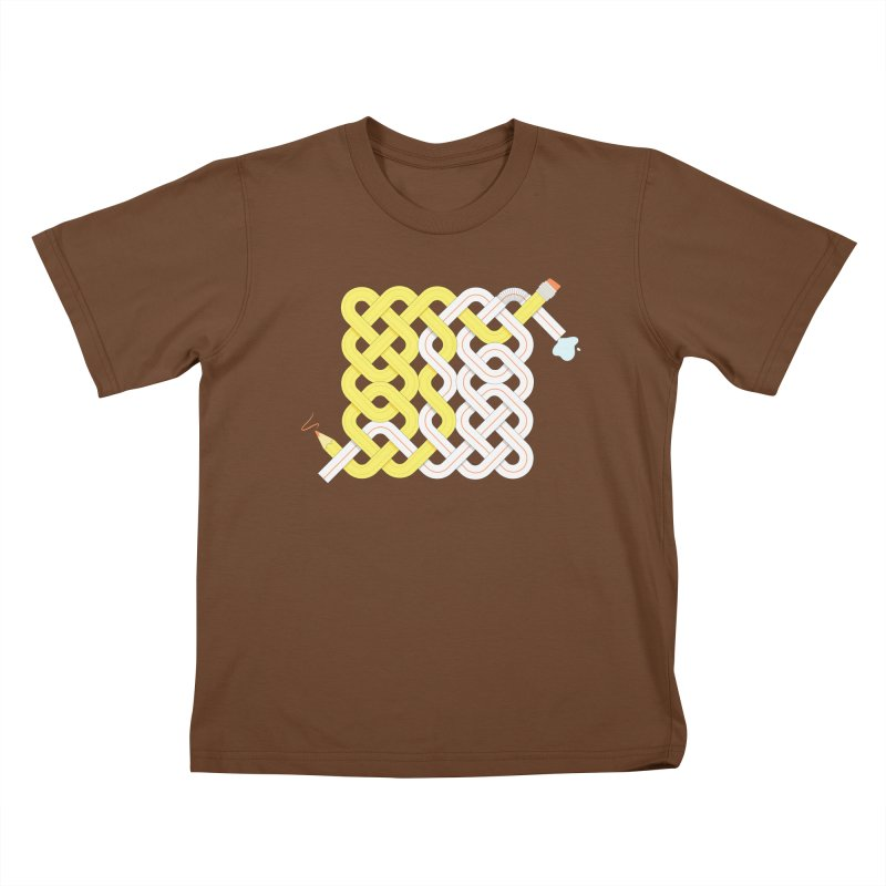 Exstrawdinary Drawing. Kids T-Shirt by cumulo7's Artist Shop