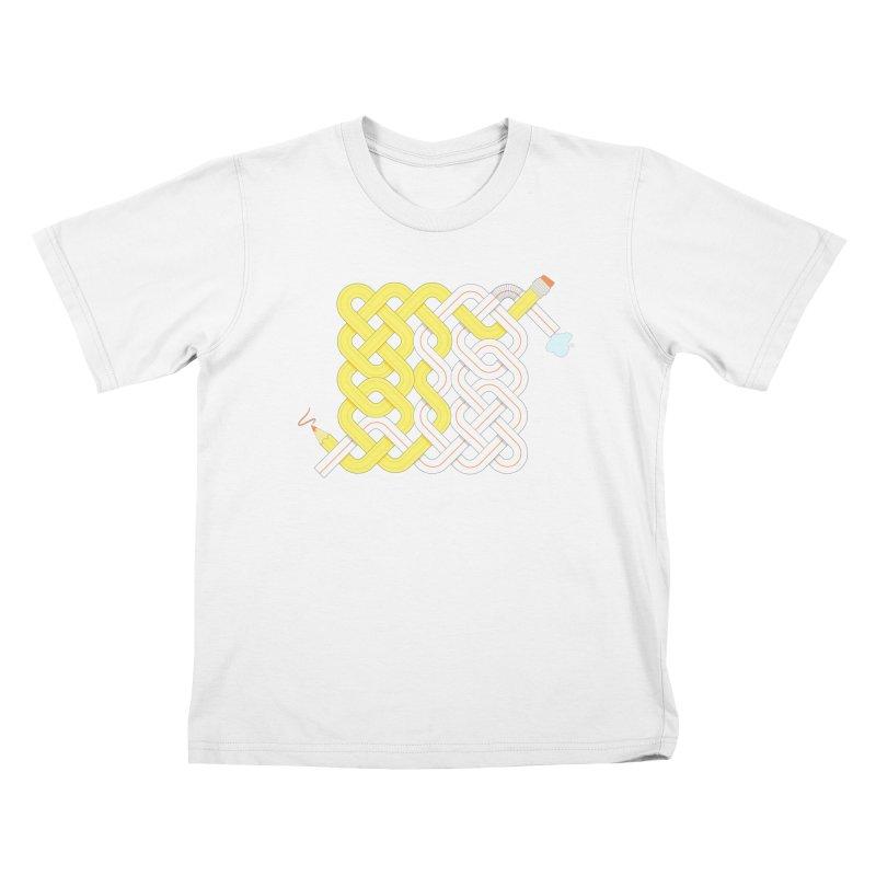 Exstrawdinary Drawing. Kids T-Shirt by Cumulo 7