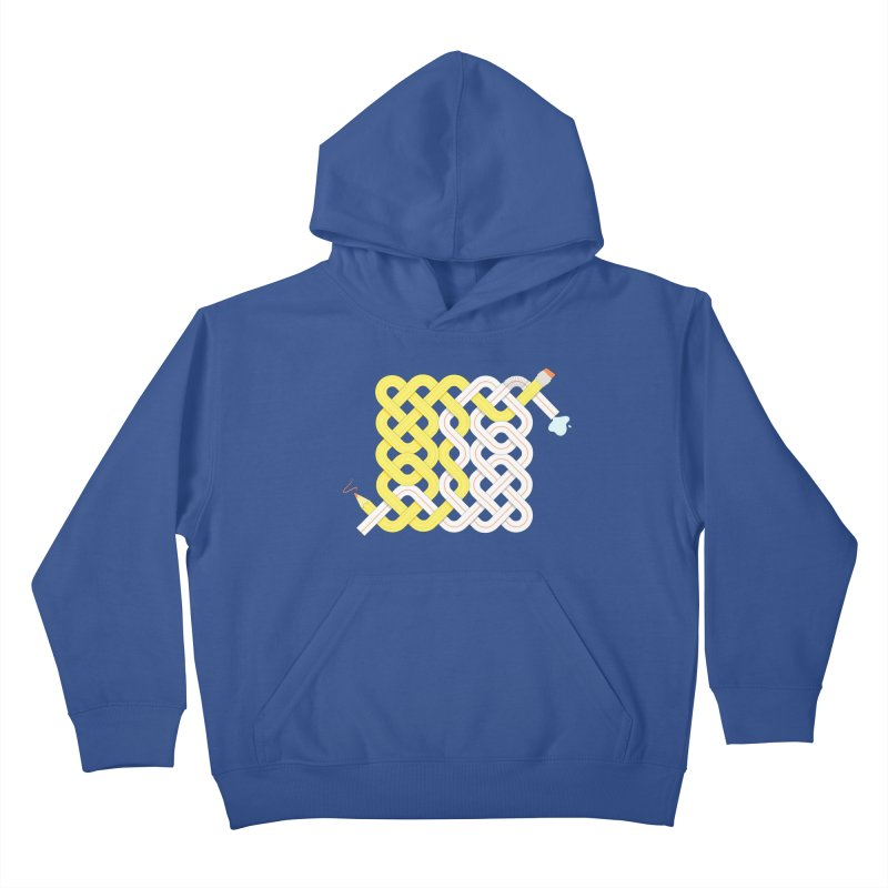 Exstrawdinary Drawing. Kids Pullover Hoody by cumulo7's Artist Shop
