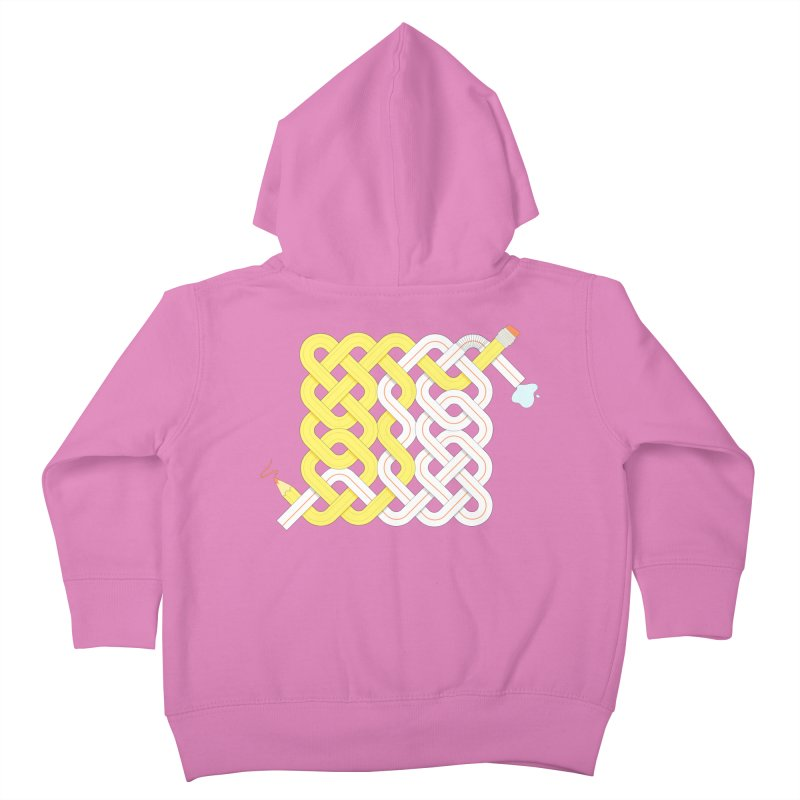 Exstrawdinary Drawing. Kids Toddler Zip-Up Hoody by cumulo7's Artist Shop