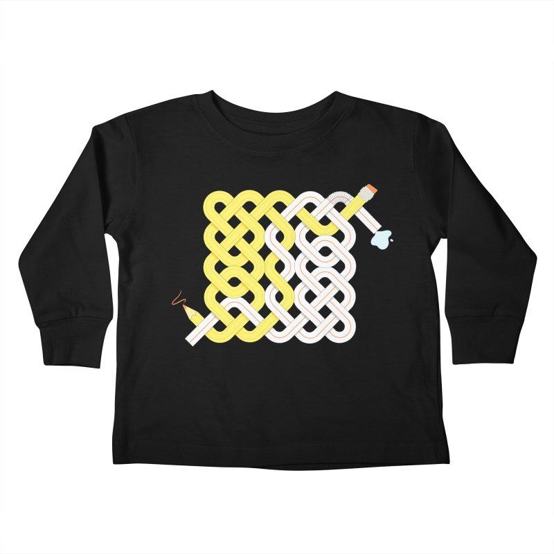 Exstrawdinary Drawing. Kids Toddler Longsleeve T-Shirt by Cumulo 7