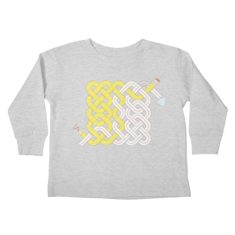 Exstrawdinary Drawing. Kids Toddler Longsleeve T-Shirt by cumulo7's Artist Shop