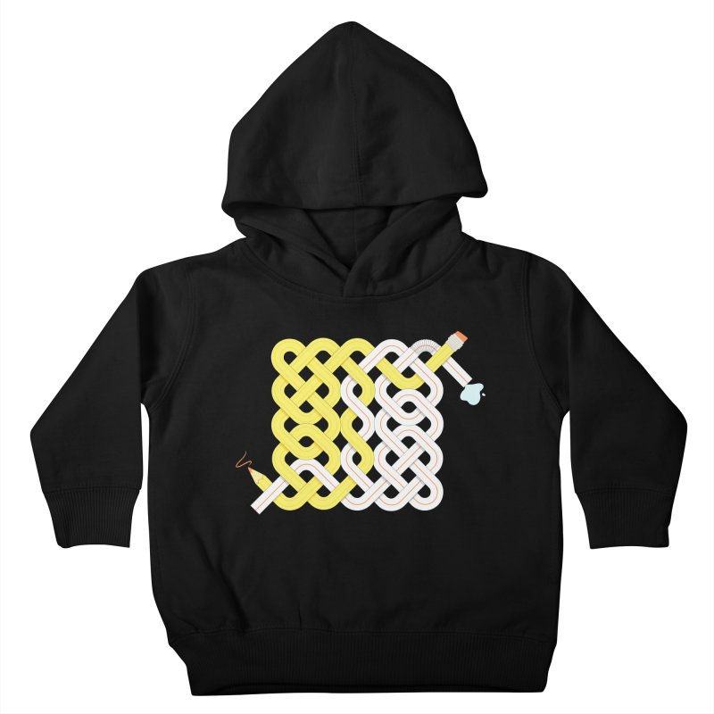 Exstrawdinary Drawing. Kids Toddler Pullover Hoody by cumulo7's Artist Shop
