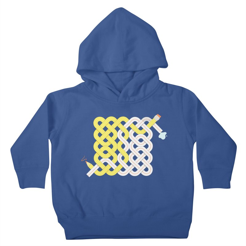 Exstrawdinary Drawing. Kids Toddler Pullover Hoody by Cumulo 7