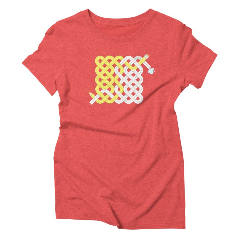 Exstrawdinary Drawing. Women's Triblend T-Shirt by cumulo7's Artist Shop