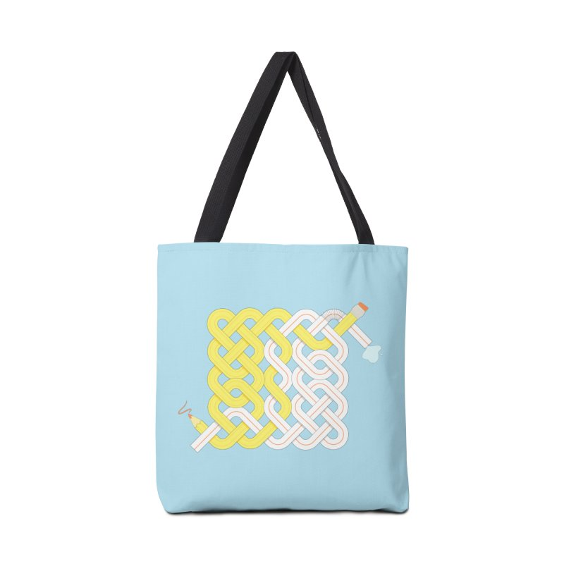 Exstrawdinary Drawing. Accessories Tote Bag Bag by Cumulo 7