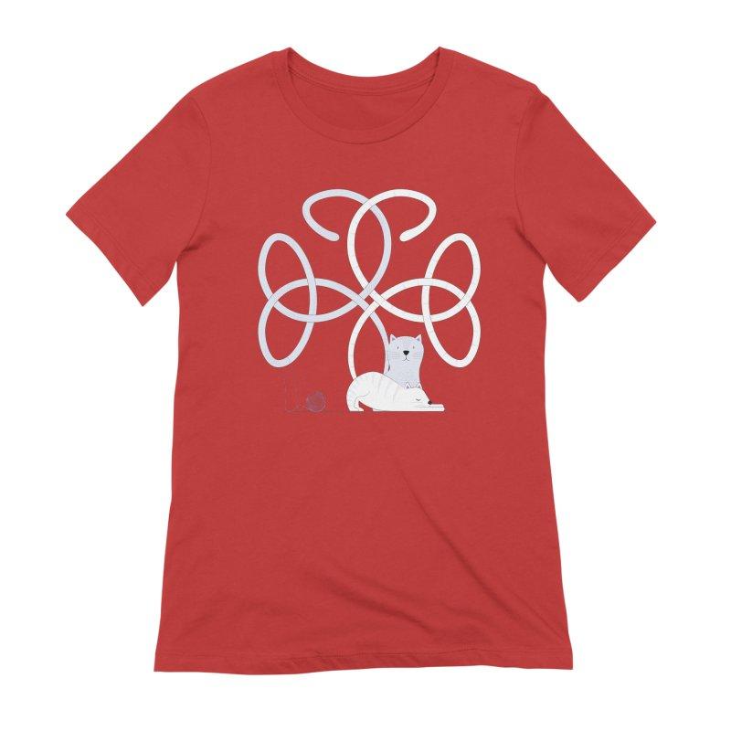 Cats Women's Extra Soft T-Shirt by cumulo7's Artist Shop
