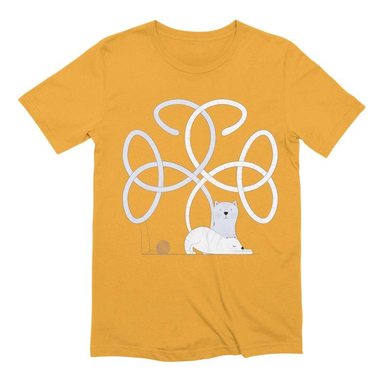 Cats Men's T-Shirt by Cumulo 7