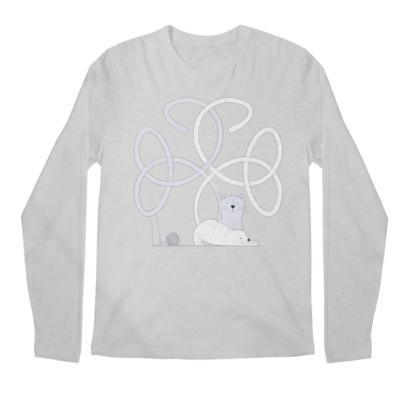 Cats Men's Longsleeve T-Shirt by cumulo7's Artist Shop