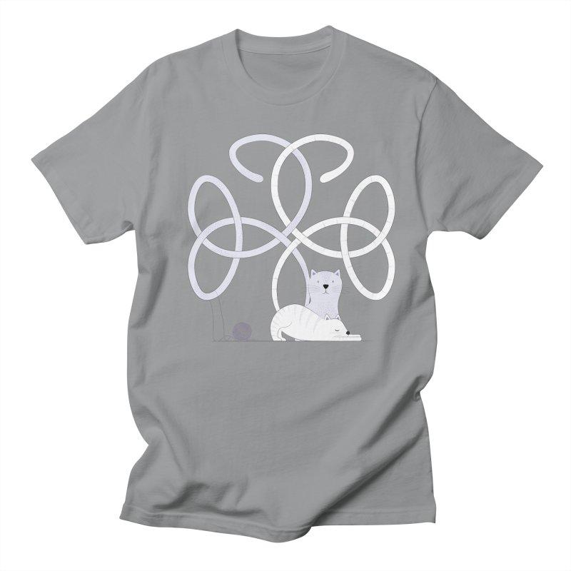 Cats Men's T-Shirt by cumulo7's Artist Shop
