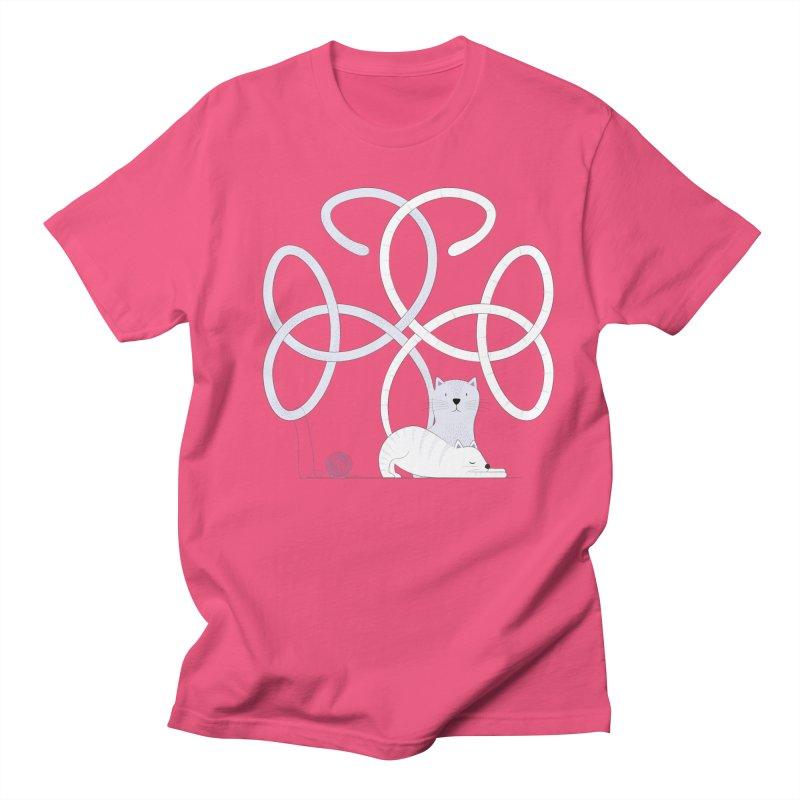 Cats Women's Regular Unisex T-Shirt by cumulo7's Artist Shop