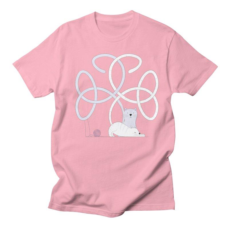Cats Women's Unisex T-Shirt by cumulo7's Artist Shop