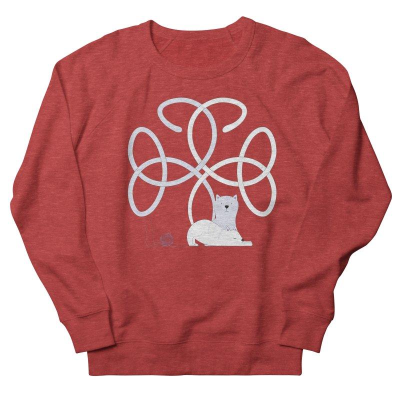 Cats Women's French Terry Sweatshirt by cumulo7's Artist Shop