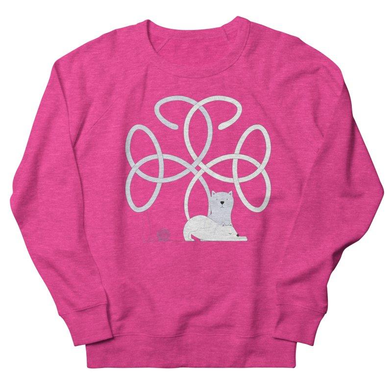 Cats Women's French Terry Sweatshirt by Cumulo 7
