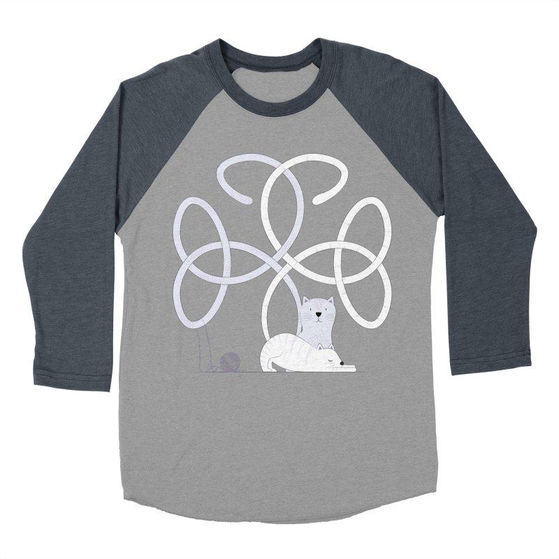 Cats Women's Baseball Triblend Longsleeve T-Shirt by cumulo7's Artist Shop