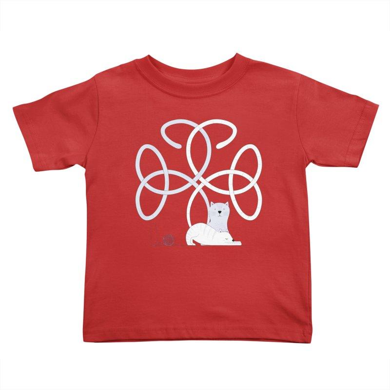 Cats Kids Toddler T-Shirt by cumulo7's Artist Shop