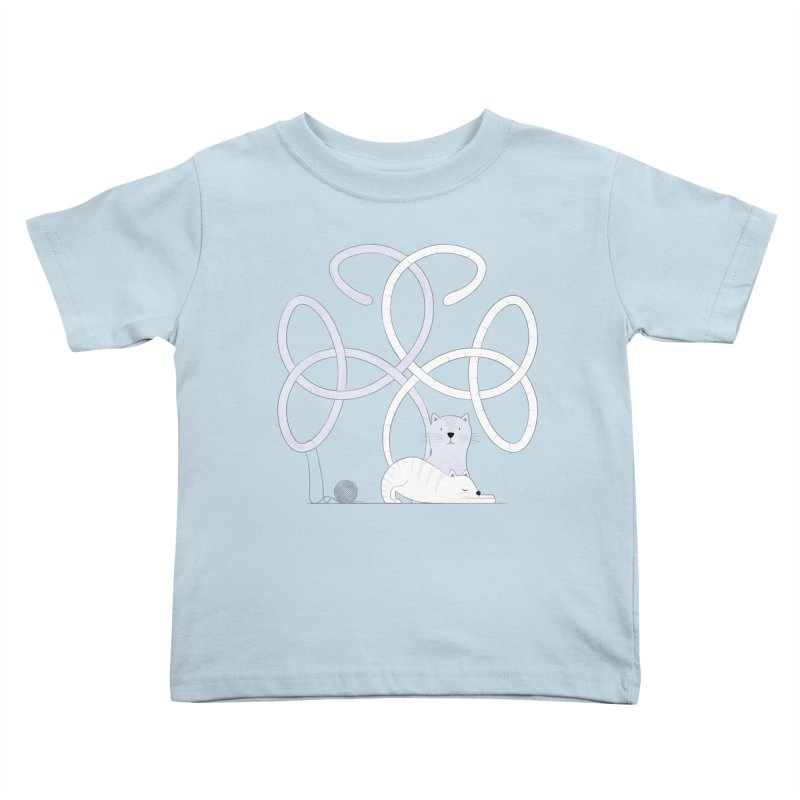 Cats Kids Toddler T-Shirt by cumulo7's Artist Shop
