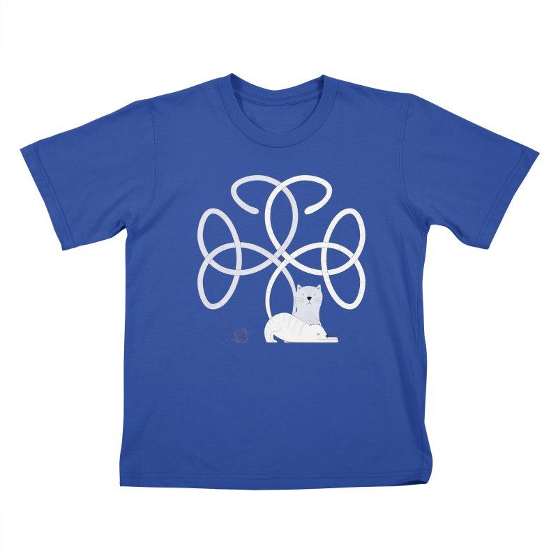 Cats Kids T-Shirt by cumulo7's Artist Shop