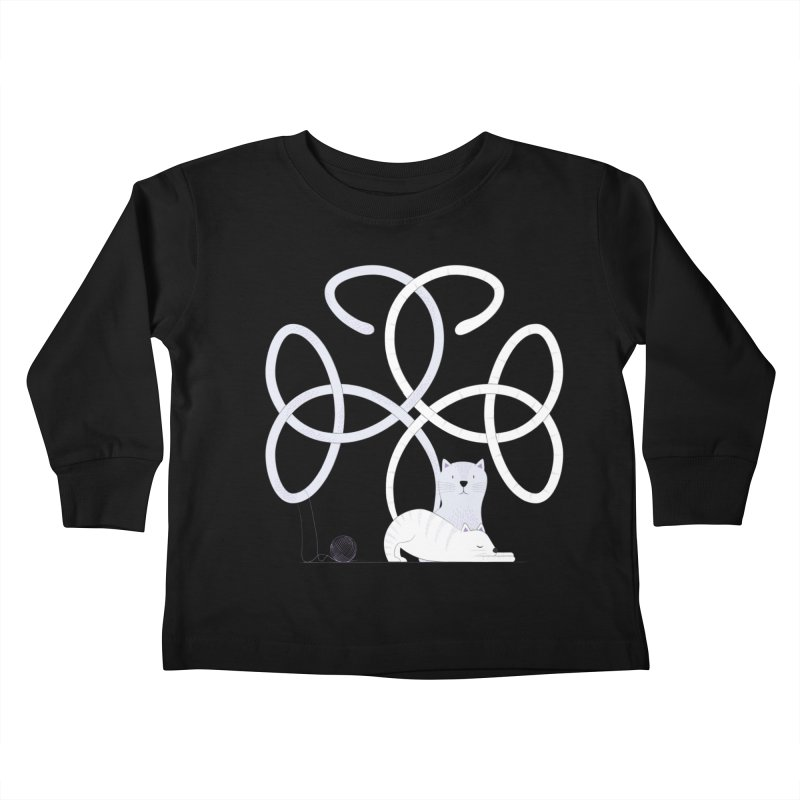 Cats Kids Toddler Longsleeve T-Shirt by Cumulo 7
