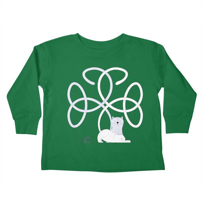 Cats Kids Toddler Longsleeve T-Shirt by cumulo7's Artist Shop