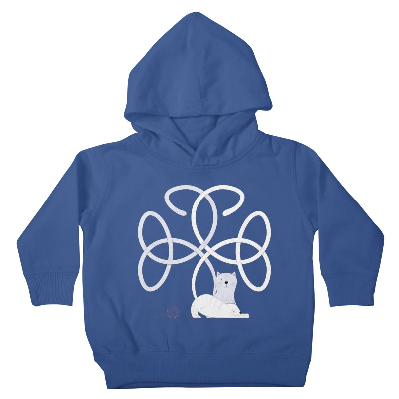 Cats Kids Toddler Pullover Hoody by Cumulo 7