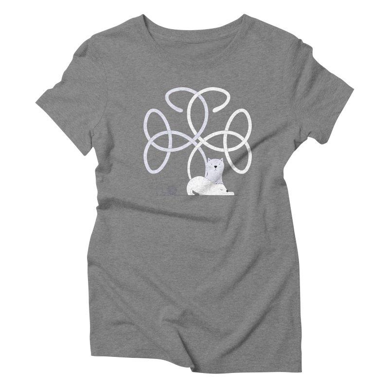 Cats Women's Triblend T-Shirt by Cumulo 7