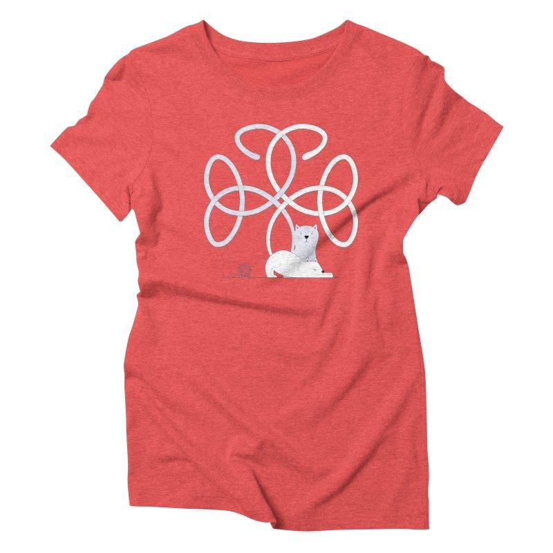 Cats Women's Triblend T-shirt by cumulo7's Artist Shop