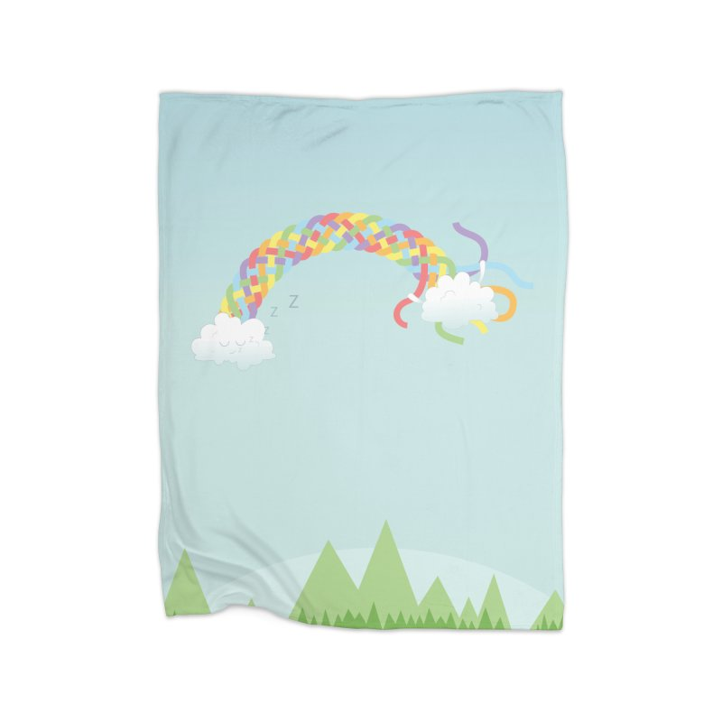 Cheeky Cloud Home Blanket by cumulo7's Artist Shop
