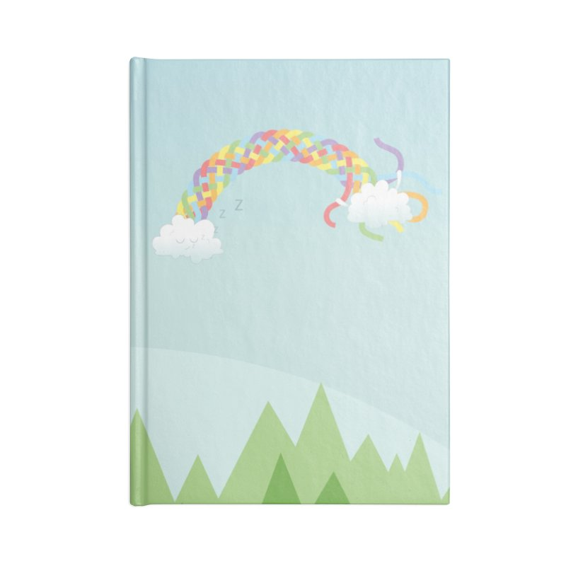Cheeky Cloud Accessories Blank Journal Notebook by Cumulo 7