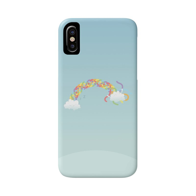 Cheeky Cloud Accessories Phone Case by Cumulo 7