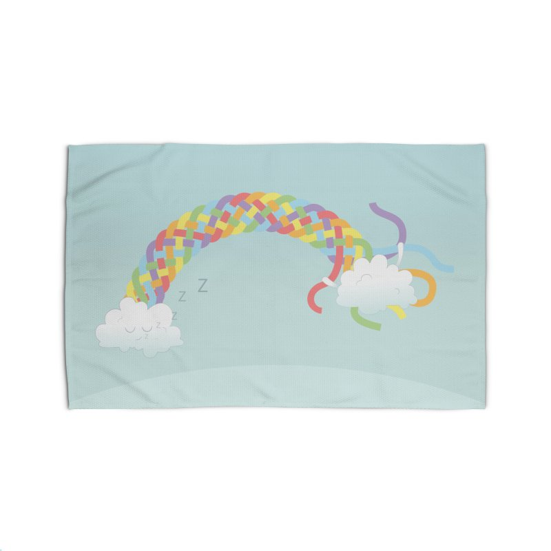 Cheeky Cloud Home Rug by cumulo7's Artist Shop